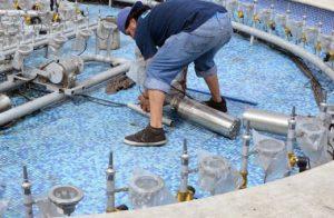 Vận hành bảo trì đài phun nước 01
